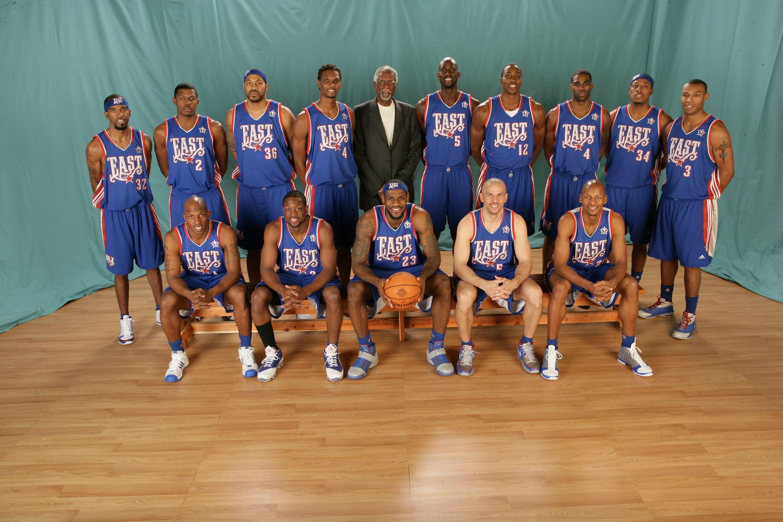 历届NBA全明星赛全家福 1998 2014图片