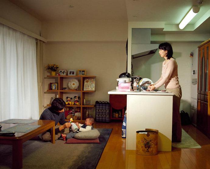 日本人家中真实生活