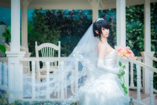 时崎狂三婚纱
