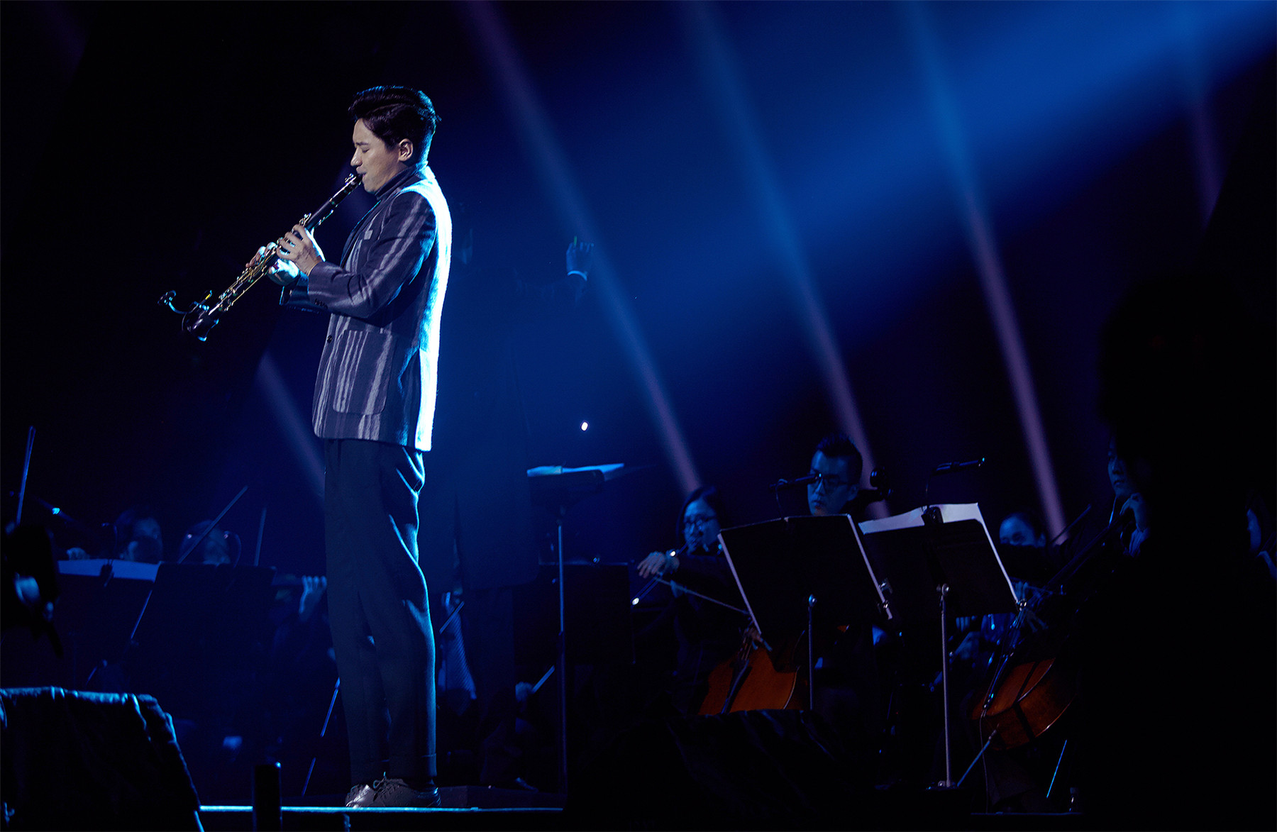 谭维维成都环境音乐会 自然与音乐完美融合