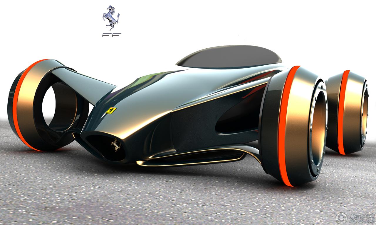 未来派概念车合集 引领炫酷外观设计潮流