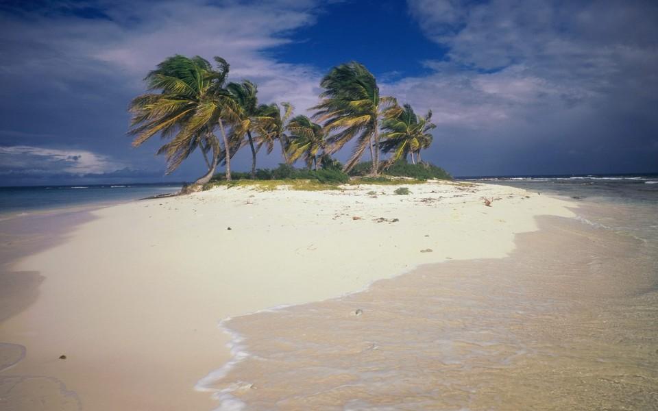 加勒比海风景高清壁纸_图片新闻_东方头条