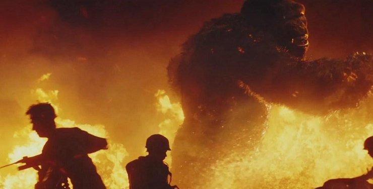"""《金刚:骷髅岛》发布""""群兽之斗""""预告海报"""