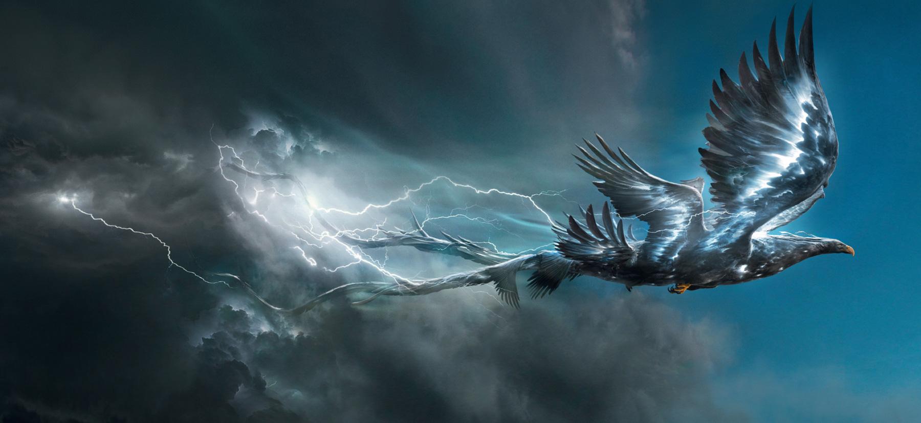 《神奇动物》曝光概念图 各种神兽帅炸了!