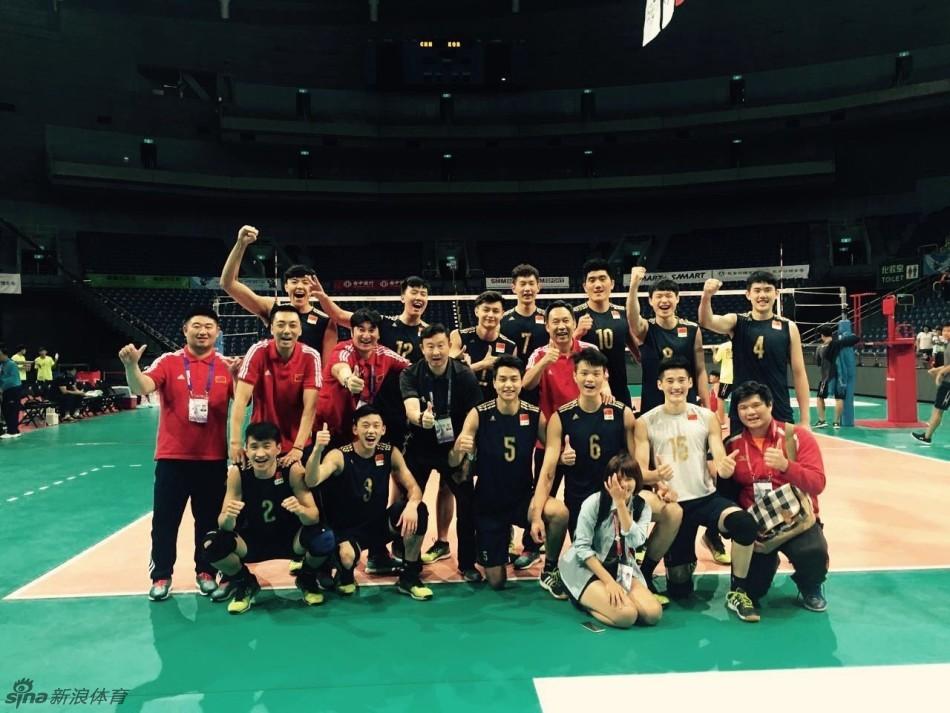 中国青年男子排球队