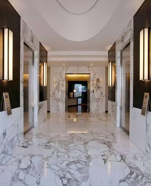 房子装修适当用用大理石 简直太美了!