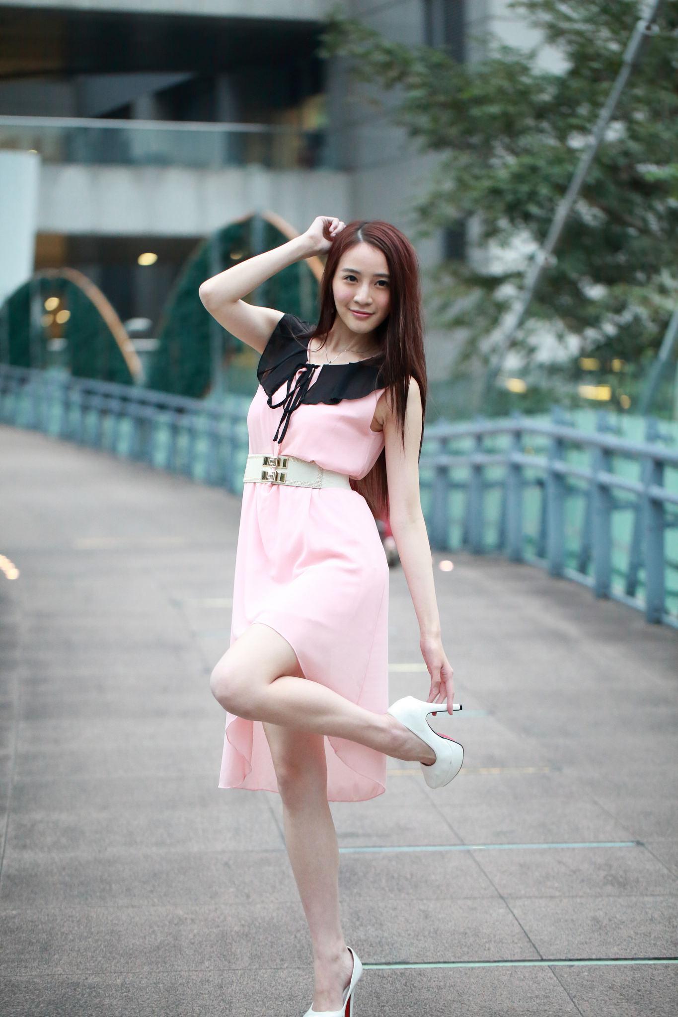 清纯美少女小习户外摄影写真图片 第二辑