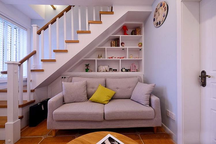 北欧风格小复式楼装修 清新舒适满目温馨