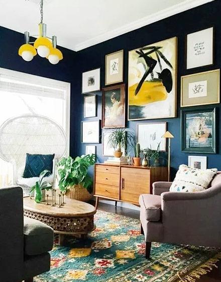 11个客厅地毯效果图 实现完美家居梦想