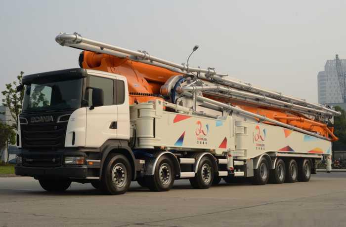 中联重科101米泵车,此车到底是噱头还是真正实力的表现