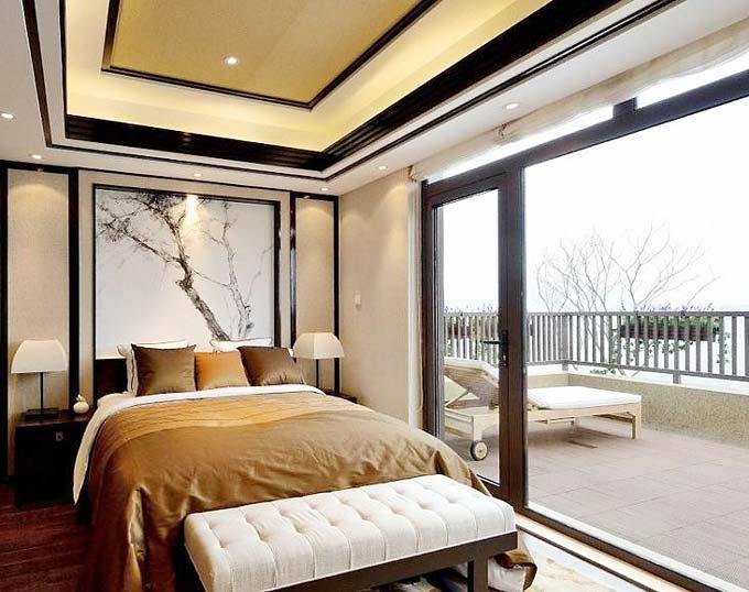 抒情至上 10款卧室阳台装饰设计图图片