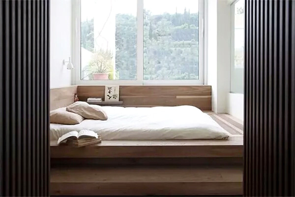 10个卧室地台床装修效果图 安全感爆棚!