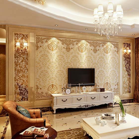 欧美流行风尚 10款欧式电视背景墙设计图片