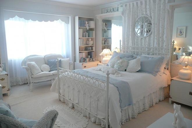 大方明亮欧式风格卧室装修效果图_图片新闻_东方头条