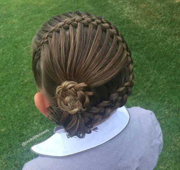 最全女孩头发编发,献给手残妈妈