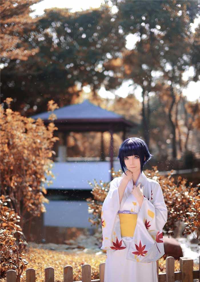 火影忍者最美雏田和服的cosplay欣赏