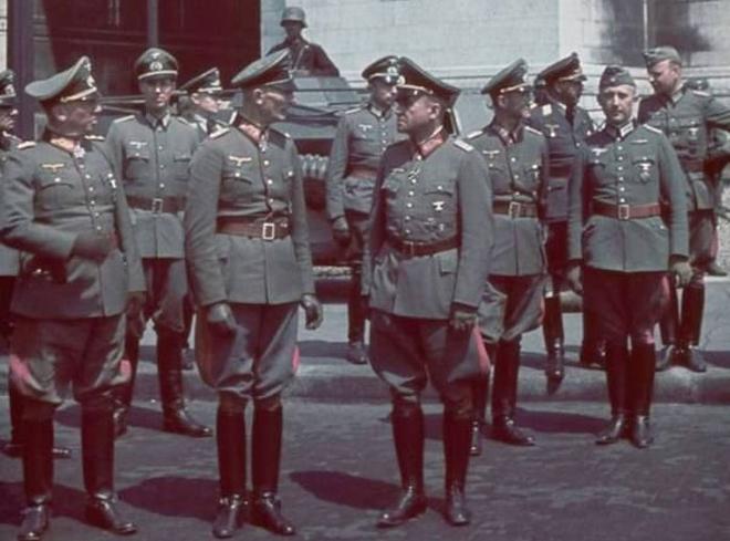 组图:曾经不可一世的纳粹领导集团