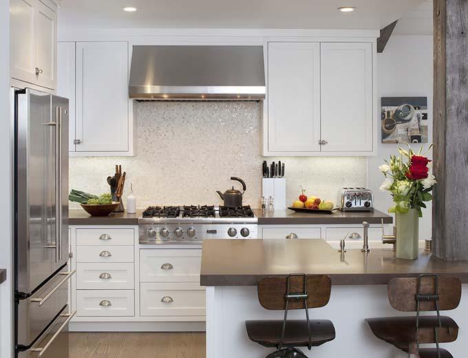 蜗居豪宅都适用 12个整体厨房装修图片