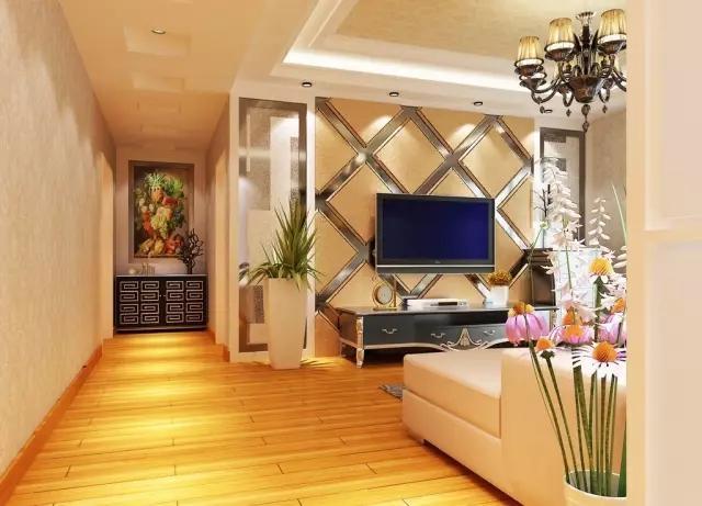 安装双控开关控制客厅灯,方便使用,特别注意电视机与沙发两边五孔插的
