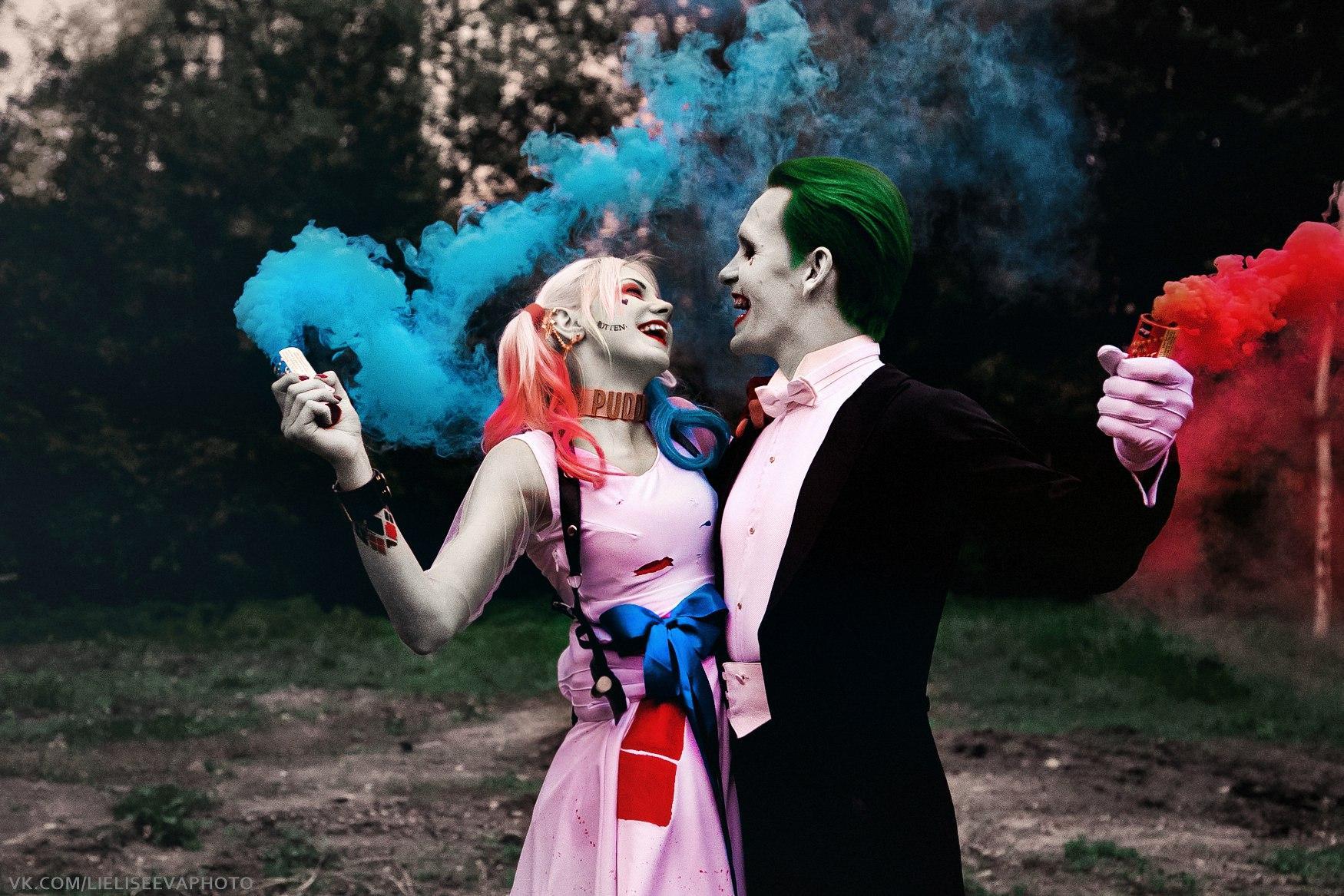 小丑男和小丑女