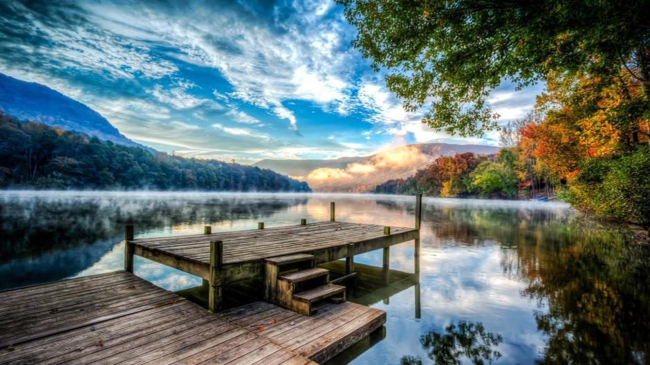 唯美大自然四季山水风景壁纸