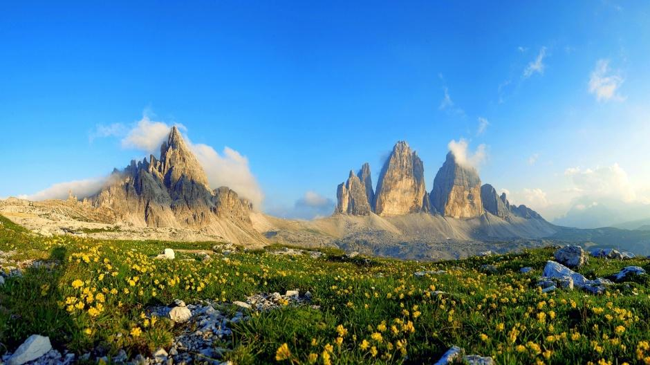 唯美大自然四季山水風景壁紙