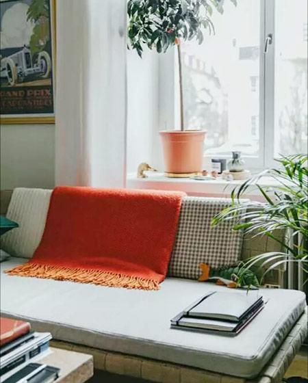 20平出租房单身公寓效果图 温馨复古空间