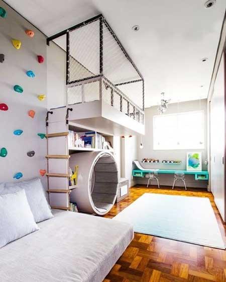 小朋友的春天 10款多彩儿童房设计图片