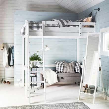 空间大小事 10款卧室高架床装修图