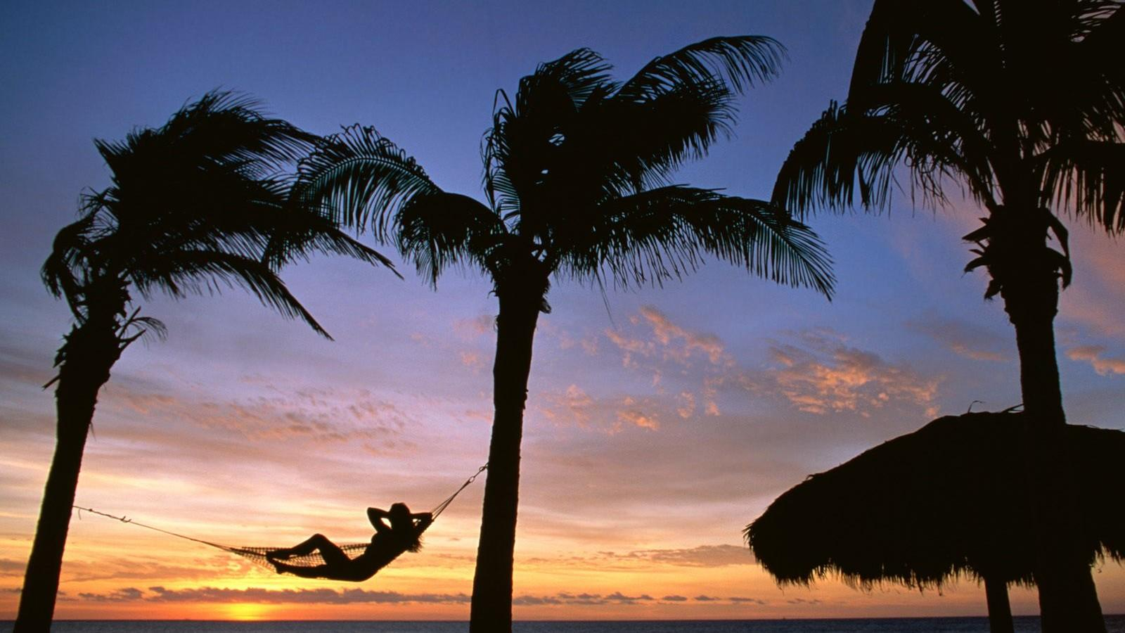 壁纸风景海滩 热带岛屿海滩风景壁纸