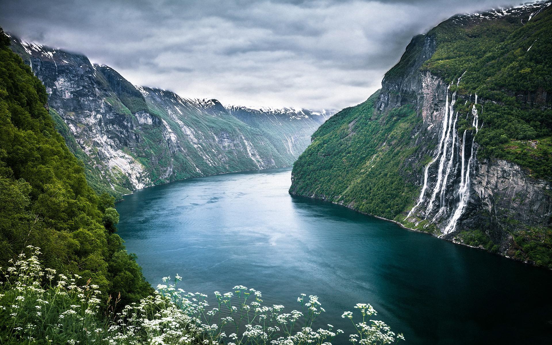 桌面壁纸高清山水风景 大自然山水相映唯美风景高清壁纸