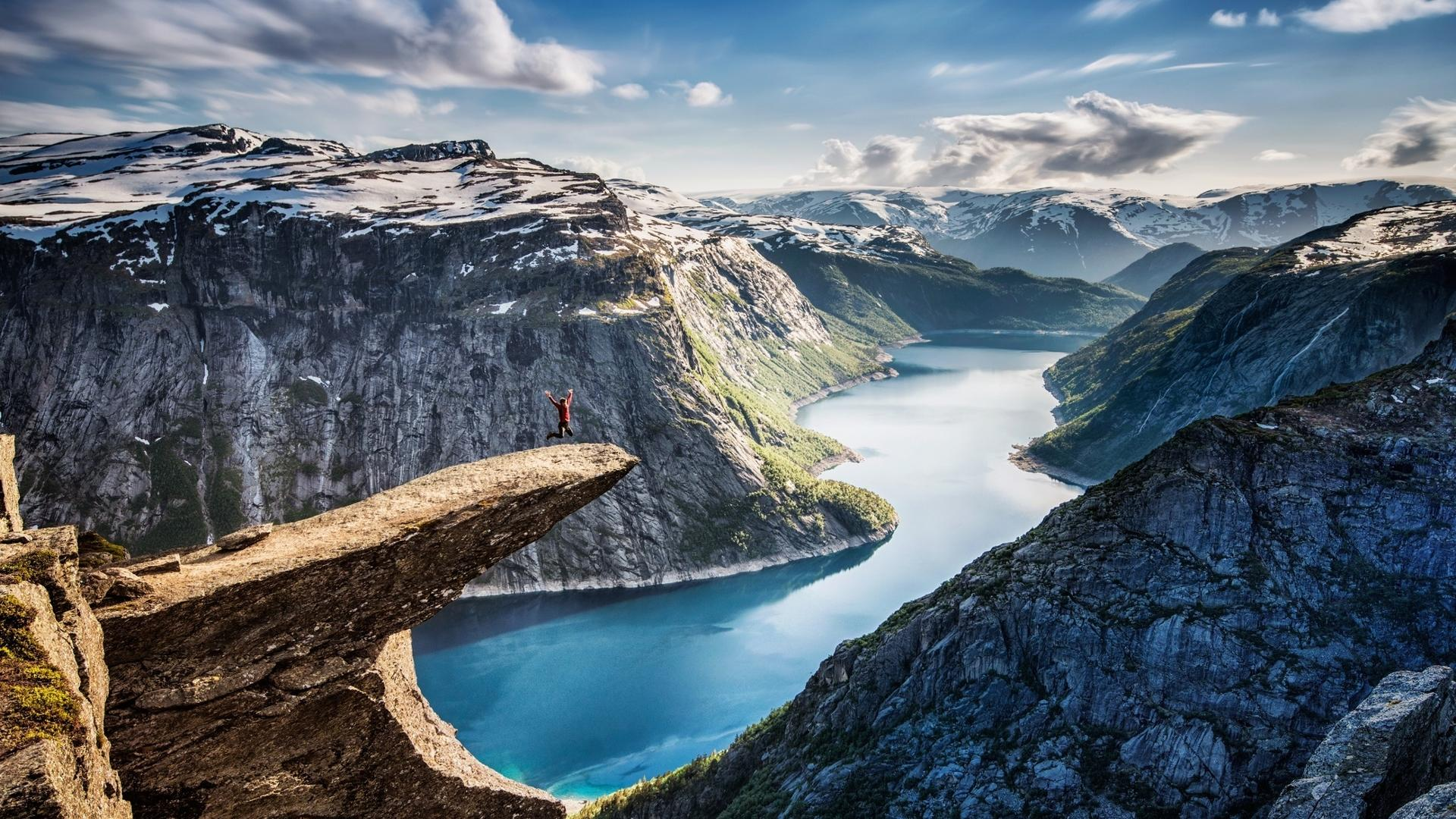自然山水风景画壁纸 大自然壮观风景秀丽山水电脑壁纸