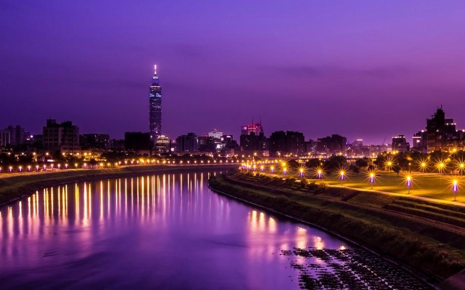 南江夜景高清图片 夜景唯美高清风景精选图片