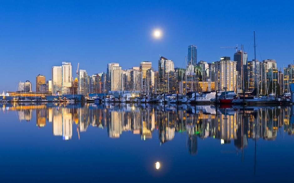 城市窗外夜景图片 城市建筑风景壁纸唯美夜景图片