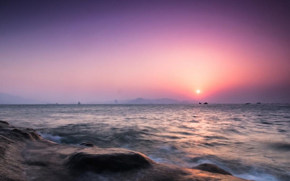 唯美高清海边风景图片 清新唯美海边自然风景护眼高清