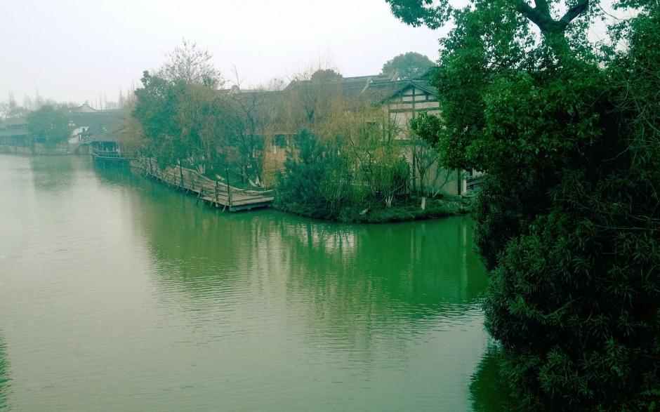 浙江鱼米之乡乌镇高清风景壁纸_图片新闻_东方头条