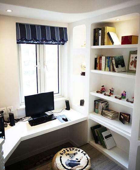 进步的阶梯 10款小户型书房设计图