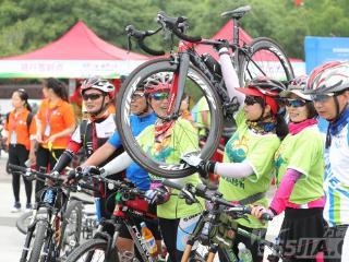 2017合肥节能周低碳骑行精彩纷呈