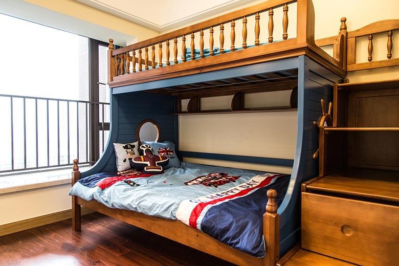 童年对错 11款儿童房设计上下床设计图图片