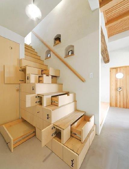 复式必备 10款楼梯装修效果图片