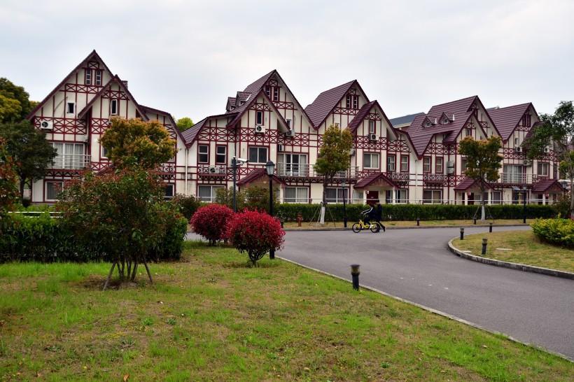 上海外國語大學風景圖片