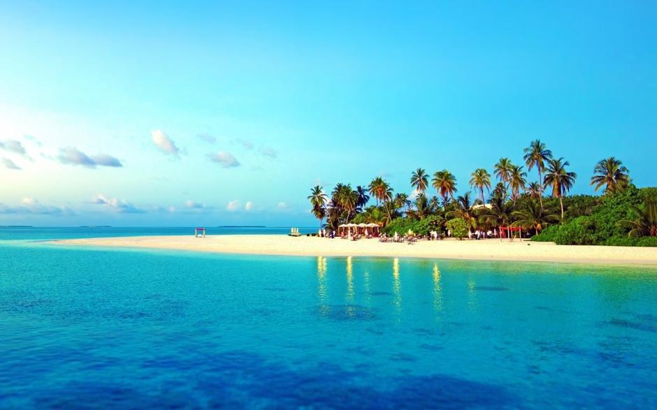 毛里求斯海岸风景壁纸_图片新闻_东方头条