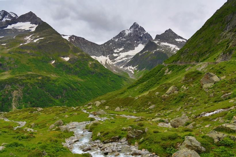 阿尔卑斯山风景图片