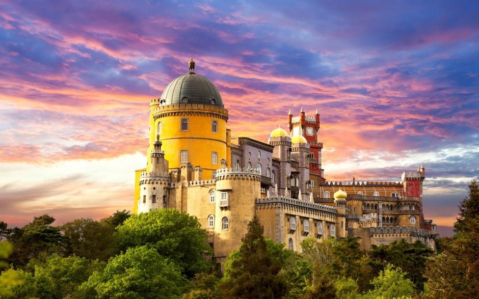 美麗的童話城堡風景圖片鑒賞_圖片新聞_東方頭條