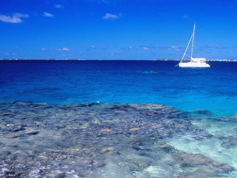 热带岛屿海滩风景壁纸