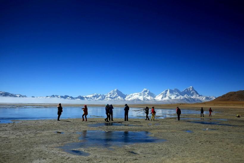 西藏卓木拉日峰风景图片_图片新闻_东方头条
