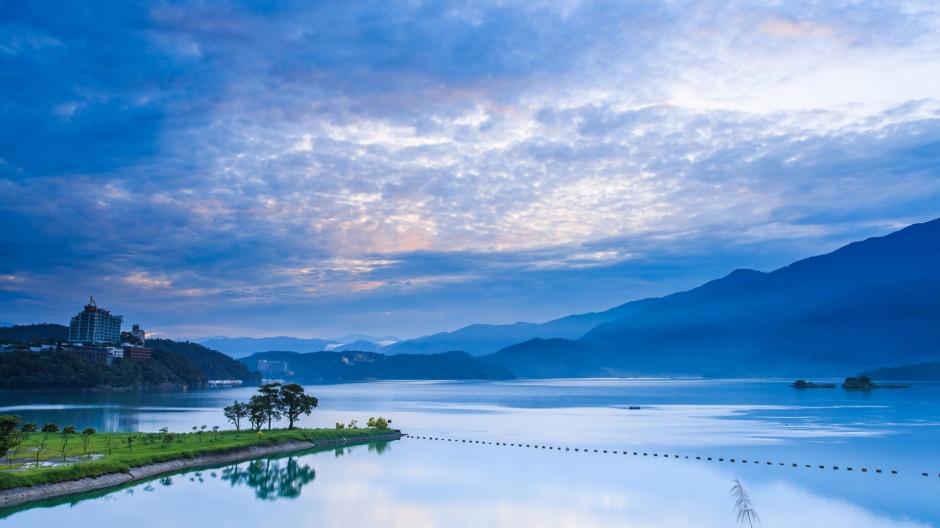 秀丽山水风景优美的图片