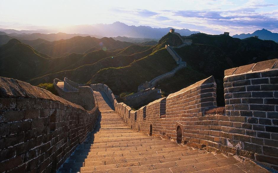 北京八达岭万里长城风景图片