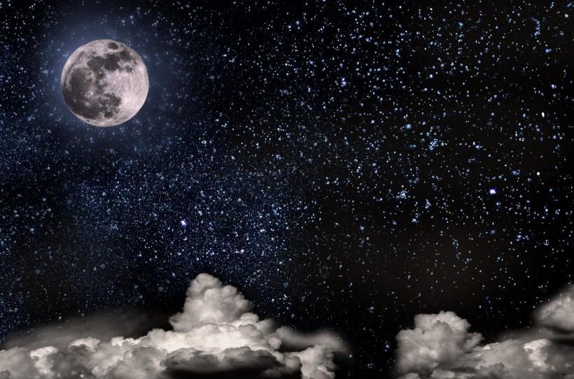 关于中秋月亮的��b_中秋圆圆的月亮图片