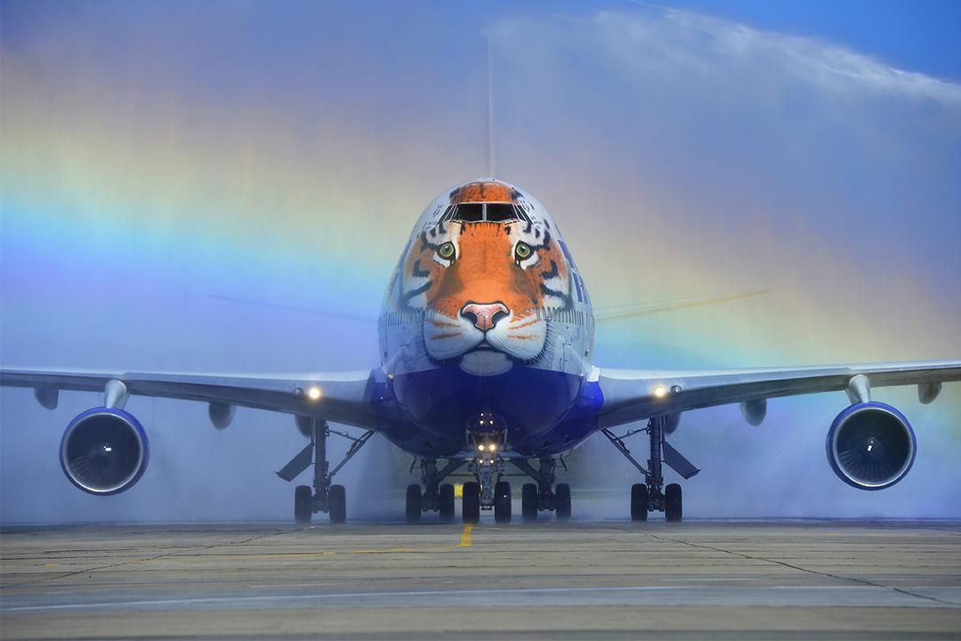 盘点那些炫酷彩绘飞机